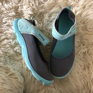 CROCS Girls' Duet Busy Day Mary Jane 3.5